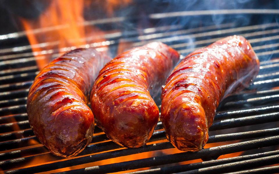 recipes sausage house bacon wrapped bratwurst