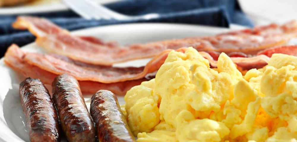 recipes sausage house scrambled eggs and sausages